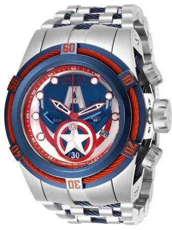 Relógio Masculino Invicta Marvel 27045 Prata