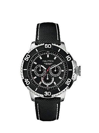 Relógio Masculino Náutica A17602G Preto