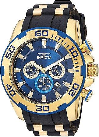 Relógio Masculino Invicta Pro Diver 22341 Dourado