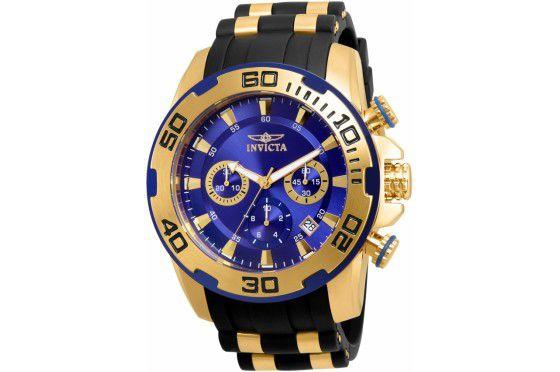 Relógio Masculino Invicta Pro Diver 22313 Dourado