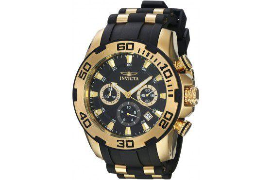 Relógio Masculino Invicta Pro Diver 22312 Dourado