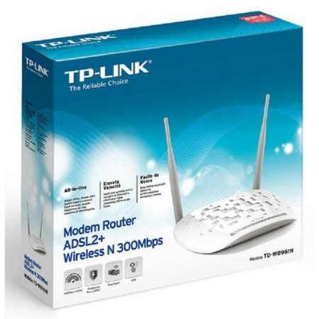 Roteador Wireless TP-Link TD-W8961ND ADSL2 300MBPS