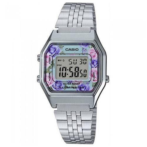 Relógio unissex Casio Vintage La680wa-2cd Prata
