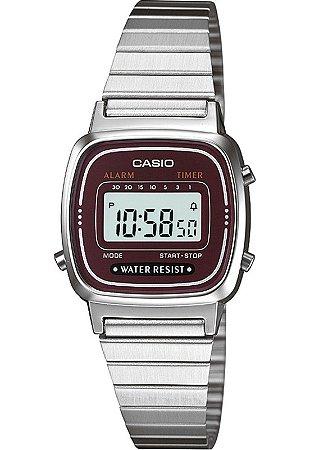Relógio unissex Casio Vintage LA670WA-4D Prata