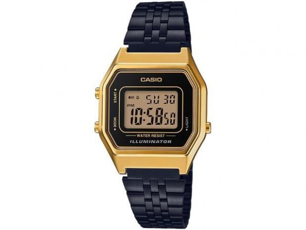 Relógio unissex Casio Vintage LA680WEGB-1A Preto