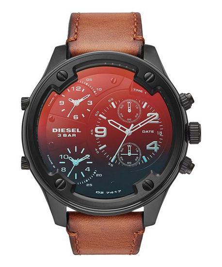 Relógio masculino Diesel DZ7417 Marrom