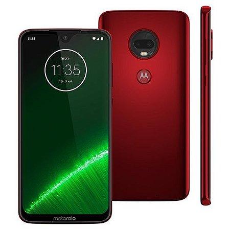 """Smartphone Motorola Moto G7 Plus XT1965-2 Dual Chip 64GB 4G Tela 6.24"""" Polegadas"""