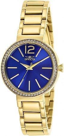 Relógio Feminino Invicta Angel 29279 Cravejado