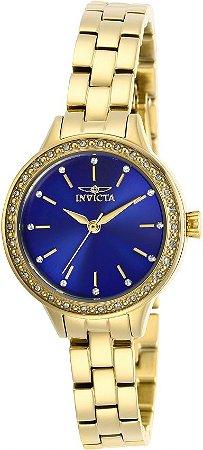 Relógio Feminino Invicta Angel 29312 Cravejado