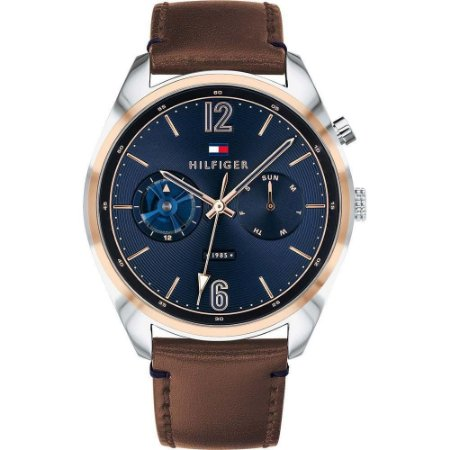 Relógio Masculino Tommy Hilfiger TH1791549 Couro