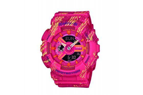 Relógio Feminino Casio Baby-G BA-110TX-4A Rosa