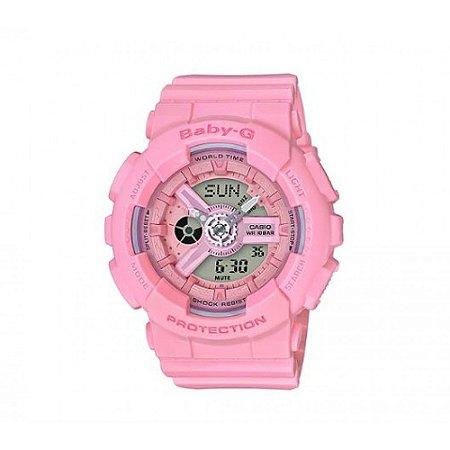 Relógio Feminino Casio Baby-G BA-110-4A1 Rosa