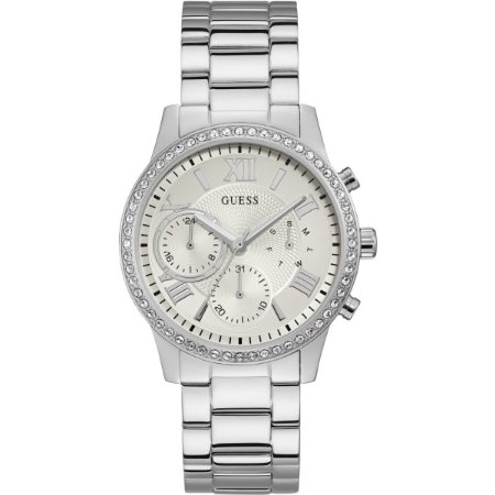 Relógio Feminino Guess W1069L1 Prata