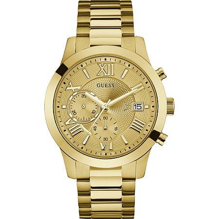 Relógio Feminino Guess W0668G4 Dourado