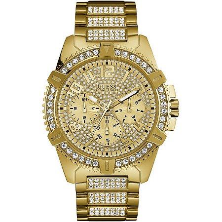 Relógio Feminino Guess W0799G2 Dourado