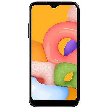 "Smartphone Samsung Galaxy A01 Dual Chip 4G Tela 5.7 Polegadas"""