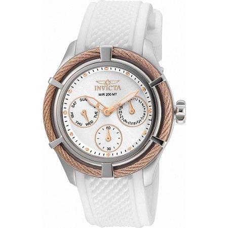 Relógio Feminino Invicta Zeus Bolt 24457 Branco
