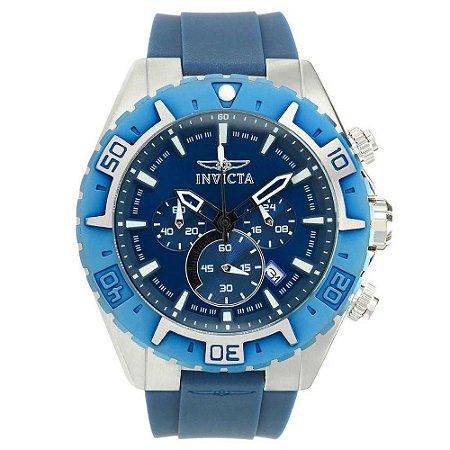Relógio Masculino Invicta Aviator 22522 Azul