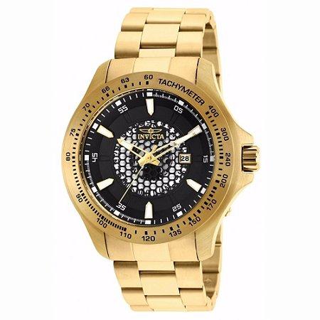 Relógio Masculino Invicta Speedway 25337 Dourado