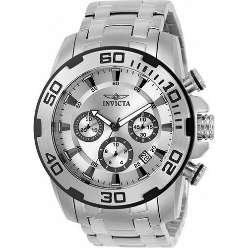 Relógio Masculino Invicta Pro Diver 22317 Prata