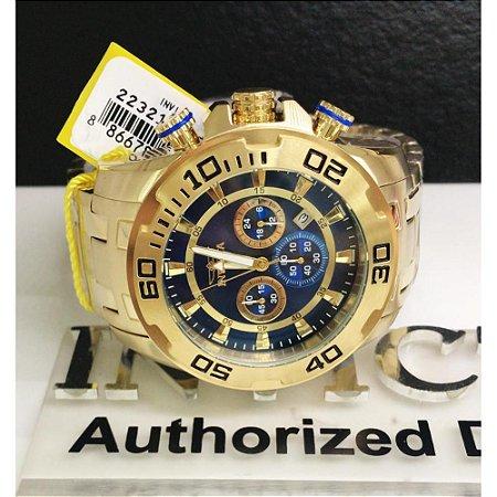Relógio Masculino Invicta Pro Diver 22321 Dourado