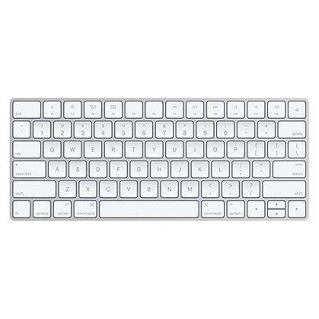 Teclado Apple MLA22LZ Wireless Branco