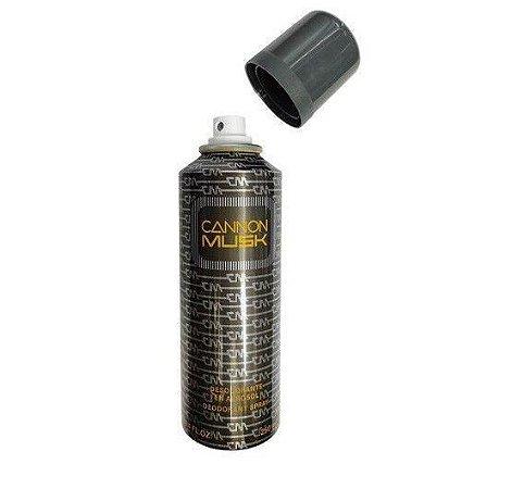 Desodorante Cannon Musk Aerosol 250ml