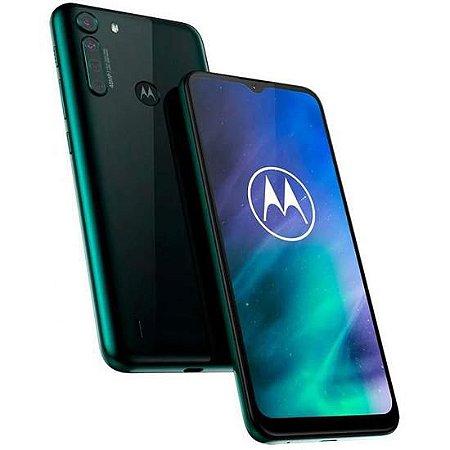 "Smartphone Motorola One Fusion Dual Chip 4G Tela 6.5 Polegadas"""