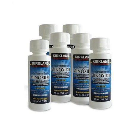Kit Kirkland Minoxidil Hair Loss Treatment For Men 60ML ( 6 PECAS )