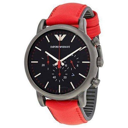 Relógio Masculino Empório Armani AR1971 Vermelho