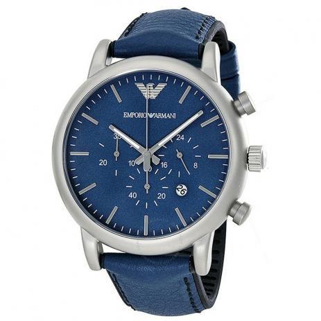 Relógio Masculino Empório Armani AR1969 Azul