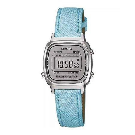 Relógio Feminino Casio LA670WL-2ADF Coro