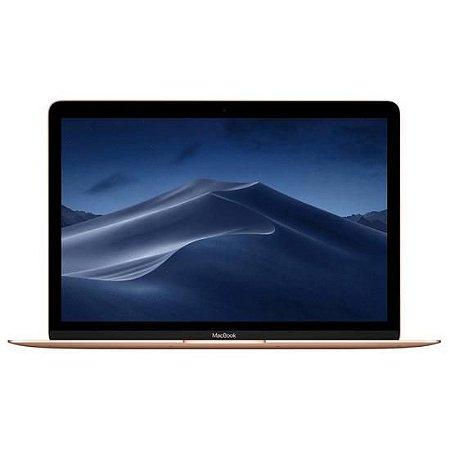 """MacBook Mac 2018 Intel Core M3 1.2GHz / Memória 8GB / SSD 256GB / 12"""""""