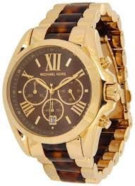 Relógio Feminino Michael Kors MK5696 Dourado & Tartaruga