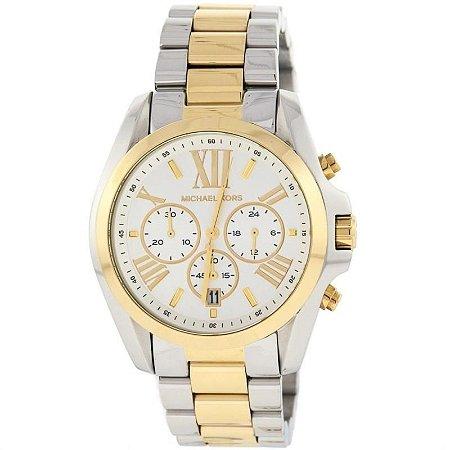 Relógio Feminino Michael Kors MK5627 Prata & Dourado