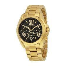 Relógio Feminino Michael Kors MK5739 Dourado Fundo Preto