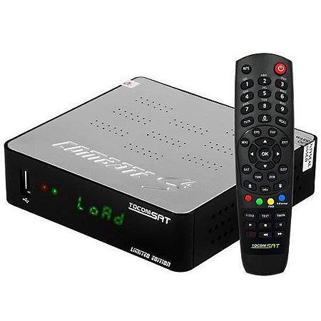 Receptor Digital Tocomsat Combate S4 Full HD