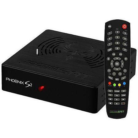 Receptor Digital Tocomsat Phoenix S2 Full HD