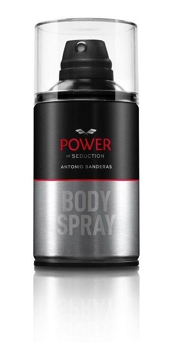 Desodorante Masculino Power of Seduction Antonio Banderas Body Spray 250ml
