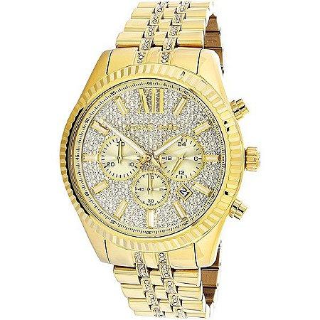 Relógio Feminino Michael Kors MK8579 Crevejado