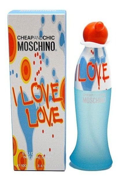 Perfume Feminino Moschino I Love Love Eau De Toilette