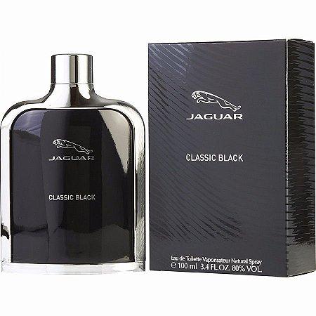 Perfume Mascunino Jaguar Classic Black Eau de Toilette