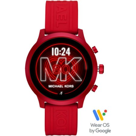 Relógio Unissex Smartwatch Michael Kors Access MKT5073 Vermelho