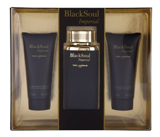 Kit Masculino Black Soul Imperial Ted Lapidus