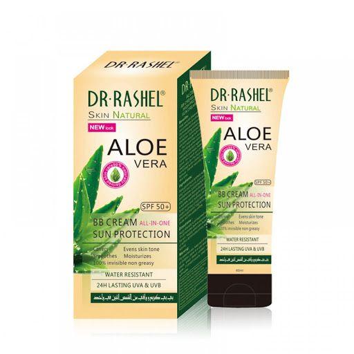 Protetor Solar Dr-Rashel Aloe Vera BB Cream SPF50+ DRL-1398 60ml