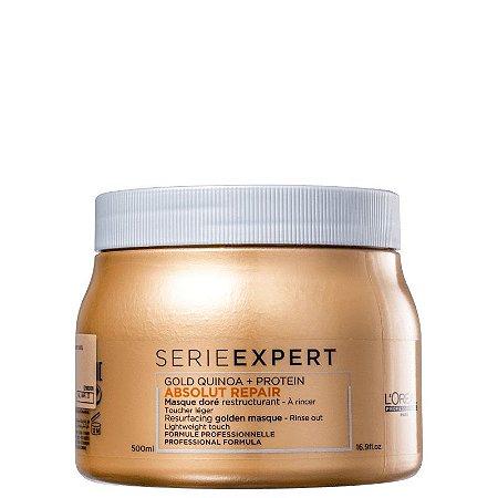 Mascara L'Oréal Professionnel Serieexpert Absolut Repair Gold Quinoa + Protein Golden Lightweight 500ml