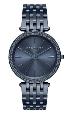 Relógio Feminino Michael Kors MK3417 Azul Craveja