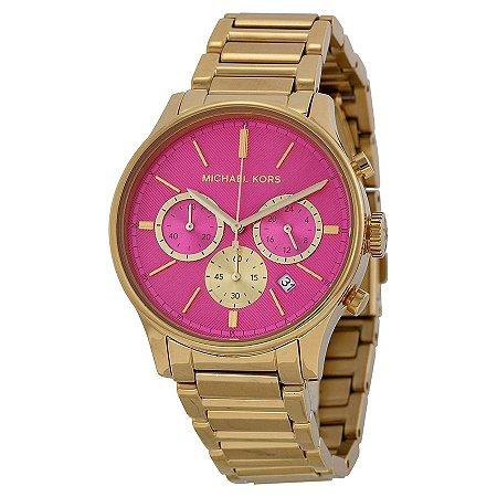 Relógio Feminino Michael Kors MK5909 Gold & Pink
