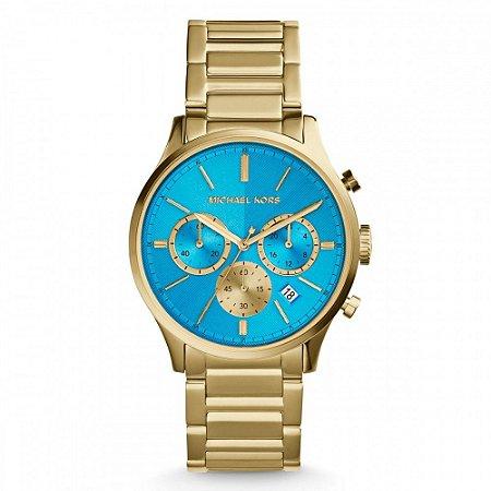 Relógio Feminino Michael Kors MK5910 Gold & Blue