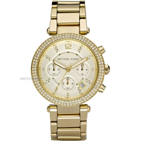 Relógio Feminino Michael kors MK5354 Dronografo dourado